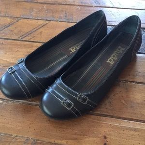 Mudd Trillant Brown Ballet Flats Size 9